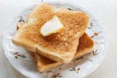 Slice toast bread Royalty Free Stock Image