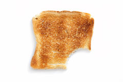 Slice of toasted bread Stock Photography