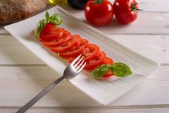Slice tomato Royalty Free Stock Photo