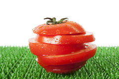Slice tomato Stock Images
