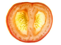 Slice tomato Stock Photography