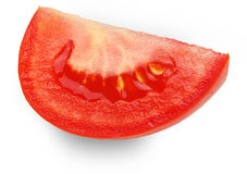 Slice of tomato Royalty Free Stock Image