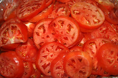 Slice Tomatoes Stock Image