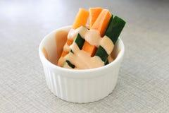 Slice of vegetables Stock Image