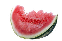 Slice of water-melon Royalty Free Stock Photography