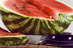 Slice of water-melon Royalty Free Stock Image