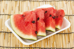 Slice of Water Melon Stock Image