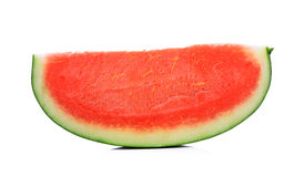 Slice of water melon on a white background Royalty Free Stock Photo