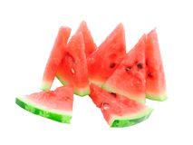 Slice of  watermelon. Royalty Free Stock Photos