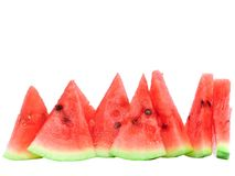Slice of  watermelon. Royalty Free Stock Photography
