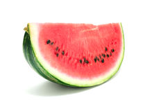 Slice of watermelon royalty free stock photography