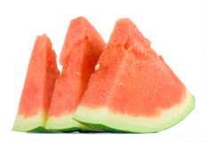 Slice of watermelon Stock Image