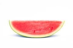 Slice watermelon isolate on white background Stock Photography