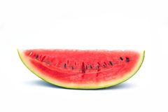 Slice watermelon isolate on white background Royalty Free Stock Photography
