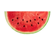Slice watermelon isolated Royalty Free Stock Photo