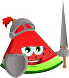A slice of watermelon knight Stock Photo