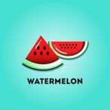 Slice of watermelon Stock Image