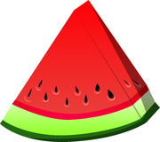 A slice of watermelon Royalty Free Stock Image
