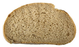 Slice of a wheat bread Royalty Free Stock Photo