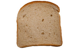 Slice of wheat bread Royalty Free Stock Image
