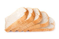 Slice of whole wheat bread for background Stock Image