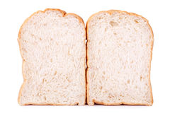 Slice of whole wheat bread for background Royalty Free Stock Photos