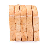 Slice of whole wheat bread for background Stock Photos