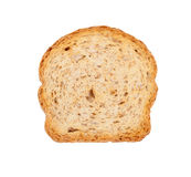 Slice of wholemeal toast Royalty Free Stock Photo