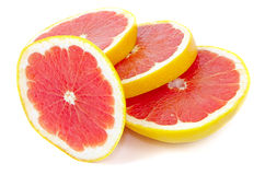 Sliced ��grapefruit Stock Photography