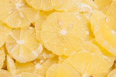 Sliced ��lemon as background Royalty Free Stock Photos
