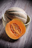 Sliced melon Stock Photography