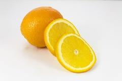 Sliced orange royalty free stock image