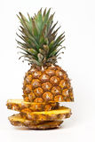 Sliced ​​pineapple Royalty Free Stock Images