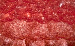 Sliced ��salami Stock Photos