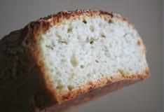 Sliced. Freashly baked bread loaf royalty free stock images