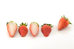 Free Sliced And Whole Strawberries Stock Image - 7868521