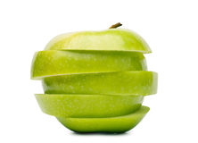 Sliced apple Royalty Free Stock Photos