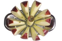 Sliced Apple 3 Royalty Free Stock Image
