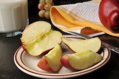 Sliced apple Royalty Free Stock Photos