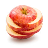 Sliced apple Stock Images