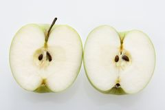 Sliced apples. Royalty Free Stock Images