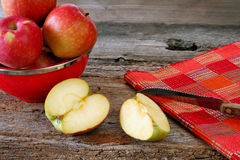 Sliced Apples Royalty Free Stock Photo