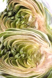 Sliced Artichoke Isolated Stock Photo