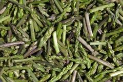 Sliced asparagus Stock Photography