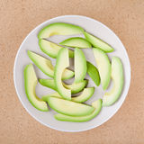 Sliced avocado Royalty Free Stock Photos