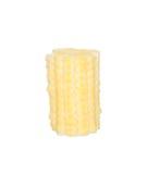 Sliced baby corn isolated on white. Background Royalty Free Stock Image