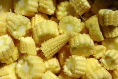 Sliced baby corn Stock Photos