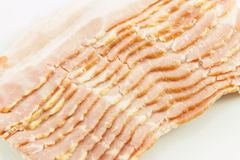 Sliced bacon Stock Image