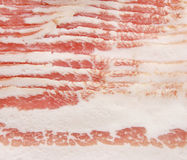 Sliced bacon. Royalty Free Stock Image
