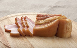 Sliced bacon Royalty Free Stock Image